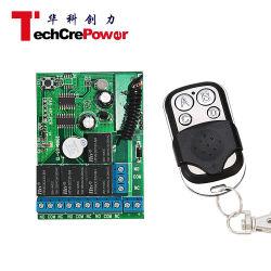 Contacteur de commande à distance numérique 4CH émetteur et récepteur du contacteur de commande à distance sans fil