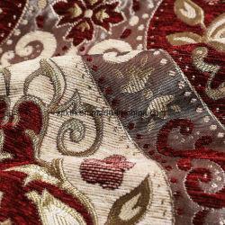2018 Tissu 100 % polyester grandes formes de fleurs de différentes couleurs