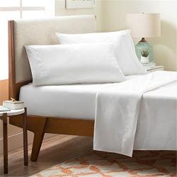 이집트 면 질 Microfiber 직물 침대 시트를 포장하는 Customzied 니스 PVC