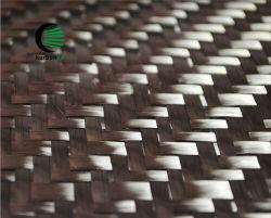 Webart-Kohlenstoff-Gewebe des Twill-2 x 2 gesponnen von der Standardkohlenstoff-Faser des modul-12K