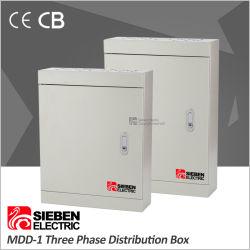 Novo Design Três Fase 4 6 8 12 maneiras a placa do painel de distribuição de Metal