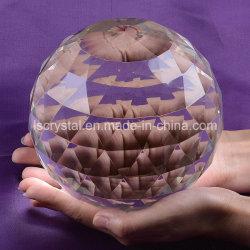 Большой разрез Crystal сфере 150мм многогранных Gazing шарик призм Suncatcher интерьер