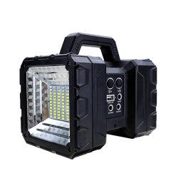 A dupla cabeça modular de montagem embutida Moderno projector LED com Luz do Painel Solar