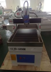 中国の携帯広告木製の 3 次元木工用 CNC 機械