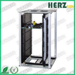PCB antiestático ESD de alta temperatura de carga automática de rack de montaje superficial de la revista 200 grados