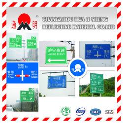 Señal de tráfico con Pet PELÍCULA REFLECTANTE (FG302)