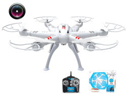 Drone 2.4G RC 4CH eje 6R/C Quadcopter (H0410561)