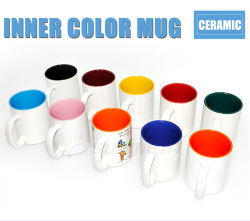 Sublimation (SKB-03)のためのFreesub Hot Sale Inner Color Ceramic Mug