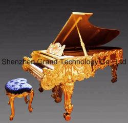 Antikes königliches reines Goldgroßartiges Klavier des Luxus-24K (CG-G1)