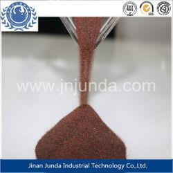 Режущие Waterjet /80 меш пескоструйной обработки 30-60 Mesh/для матирования красного граната песка с SGS отчет о тестировании