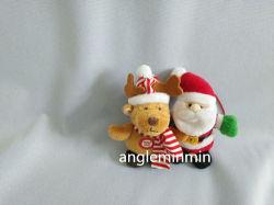 Weihnachtsplüsch-Spielzeug mit Hut