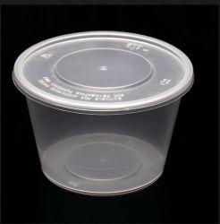 Commerce de gros récipient alimentaire micro-ondes PP en plastique contenant des aliments à emporter