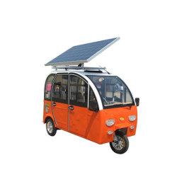 De drie Gereden Zonne Auto ZonneDriewieler Met drie wielen/Elektrische Met drie wielen van uitstekende kwaliteit van de ZonneMacht