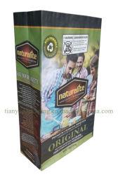Дружественность к окружающей среде барбекю древесный уголь упаковка крафт-бумаги мешок, 2 кг 3 кг 4 кг 5 кг 9 кг, 10кг