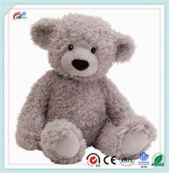 회색 장난감 곰 17 인치 견면 벨벳 모피 박제 동물 장난감