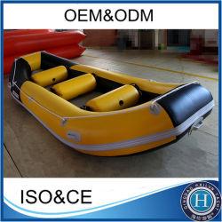 Nouveau design d'aviron de Rafting gonflable Paddle Racing bateaux White Water Rafting bateau