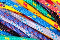 Buena resistencia y alta abrasión de poliéster de polipropileno de nylon trenzado doble cuerda Boad