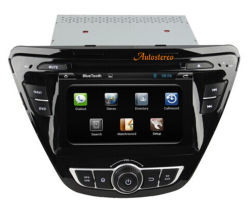 Hyundai Elantra 2014년을%s 인조 인간 4.4.4 Car GPS Navigation