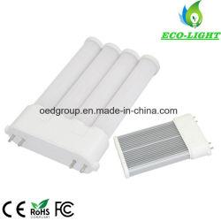 Fournisseur de Shenzhen en Chine 3ans de garantie de 4 broches 2g10 15W pl lampe à LED