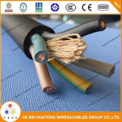 Calidad confiable H05RN-F de 300/500V flexible de 4mm de cable USB Cable de datos