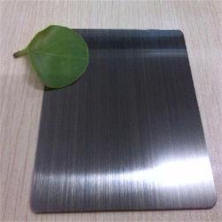 Feuille de titane PVD noir brossé Anti-Fingerprints 7c Film de protection, plaque de couleur en acier inoxydable 304