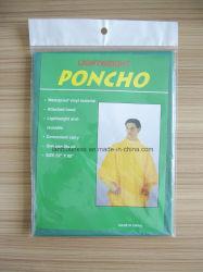 Green PEVA Poncho/Waterlant and windproof/PEVA/Poncho للمشي لمسافات طويلة