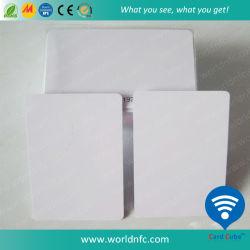 Plástico de PVC blanco blanco imprimible de la tarjeta de inyección de tinta