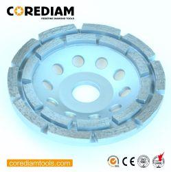 高性能のダイヤモンドの二重列のコップの車輪か粉砕のコップの車輪