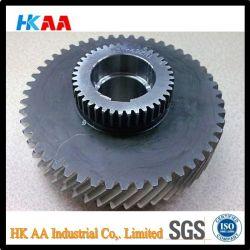 Custom Machining CNC Hard Teeth Helical Gear, Double Helical Gear