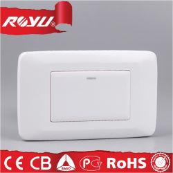 남아프리카를 위한 Saba Certificate PC Material Flat Button Switch