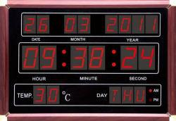 205 Горячие продажи светодиод настенный календарь