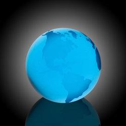 Globo de água azul com fundo plano (#968-C1111)