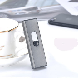 Windproof eléctricos recargables USB Metal Arc encendedor de cigarrillos baratos