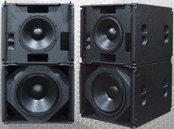 Профессиональный звук громкоговорителя пассивный 18 дня Д-15 дюйма неодимовый динамик сабвуфера