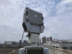Mikrowellenalarm-Sicherheitssystem Bodenüberwachung Monitor/Detektor/Sensor/Radar mit S-Band