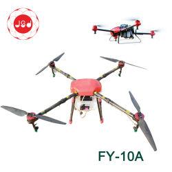 Fy-10A 4 вал новых должностей категории специалистов из углеродного волокна 4-6m бла сельского хозяйства Pestcide Drone Quadcopter опрыскивания