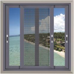 건축재료 광저우 알루미늄 합금 문과 Windows 도매가 태풍 충격 집은 큰 알루미늄에 의하여 이중 유리로 끼워진 유리제 슬라이딩 윈도우를 이용했다