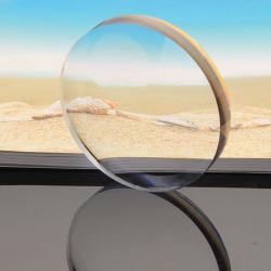 플라스틱 입히는 수지 광학 유리 렌즈
