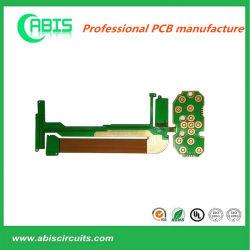 PCB flexibles rígidos FPCB de doble cara con la inmersión Enig Oro