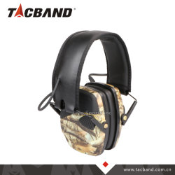 Низкий профиль шумов электронные активные средства защиты слуха ANSI Ce Ear Muff для съемки охоты - Camo
