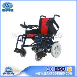 Aluminium verwendeter leichter Portable Bwhe602, der elektrischer Strom-Rollstuhl faltet