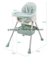 Bebé de alimentación portátil de alta silla plegable Silla de Comedor mesa para niños
