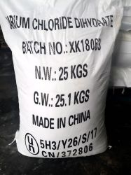HS 부호 28273920를 가진 바륨 염화물 Dihydrate