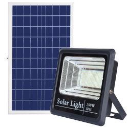 Comercial de alta potencia solar exterior LÁMPARA DE LED de iluminación de inundación Inicio Sistema de Ahorro de energía de la luz de los productos de sensor Linterna Jardín Piscina al aire libre de pared
