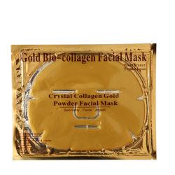 Commerce de gros OEM Gold/rose/blanc/couleur noire gel de collagène naturel Chollagen couchage masque facial de cristal
