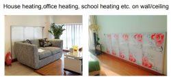 El Panel Calefactor de infrarrojos de cristal de carbono -Calefacción Casa/Oficina calefacción en la pared o techo