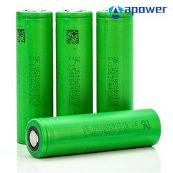 Hohe Lithium-Batterie-Zelle der Einleitung-Kinetik-30A 3000mAh Vtc6 18650