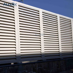 Commerce de gros de grande taille buse coulissante pour l'air de clôture de la tôle de conditionnement