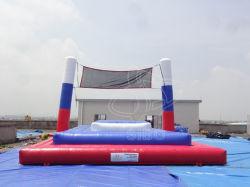 Aufblasbares Wasser-Volleyball-Gericht/sich hin- und herbewegender aufblasbarer Vollyball Wasser-Sport