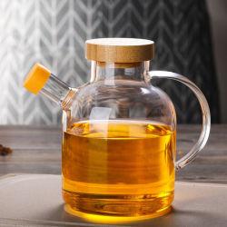 Kreativer Entwurfs-Glasware-Glastee-Krug gesetzter Pyrex Tee-Krug-Tee-Potenziometer